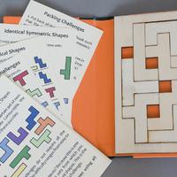 Bőségszaru – szimmetrikus és egybevágó alakzatokból