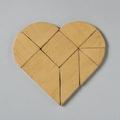 Szív – tangram