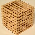Gyufakockából fajáték 2. rész – Grid Sticks Cube 8