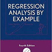 Regression Analysis By Example Ebook Rar