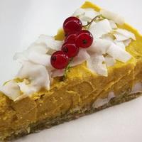 Mangós-kókuszos torta (vegán)