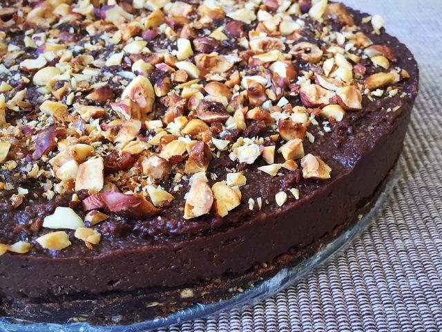 Mogyorókrémes torta (vegàn)