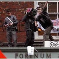 Tüntetések Londonban