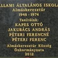 Tudtad, hogy Kapes Ottó tanár úr neve már felkerült egy emléktáblára 2012-ben?