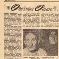 Megsárgult újságlapok: Ormánsági öregek (1961)