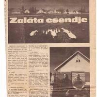 Megsárgult újságlapok - Zaláta Csendje (1981)
