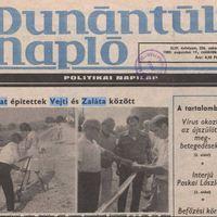 Megsárgult újságlapok - zalátai utak