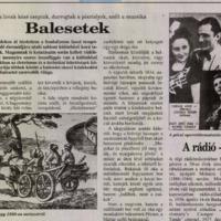 Megsárgult újságlapok: A kocsisok a lovak közzé csaptak, durrogtak a pisztolyok, szólt a muzsika (Dunántúli Napló 1996)