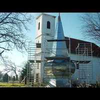 A zalátai templomfelújíás