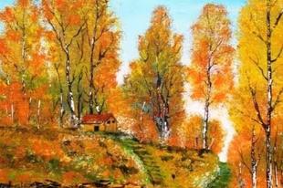 Kallenberger Györgyi festményei: Évszakok