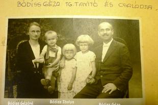 Képes családtörténet - a kántortanító nagypapa és családja