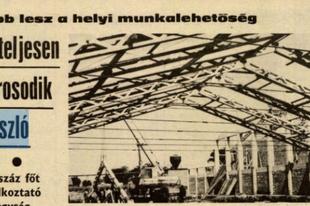 Megsárgult újságlapok - Erőteljesen iparosodik Vajszló (Dunántúli Napló 1976)