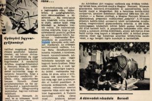 Megsárgult újságlapok: A vajszlói erdő réme... (1965.)