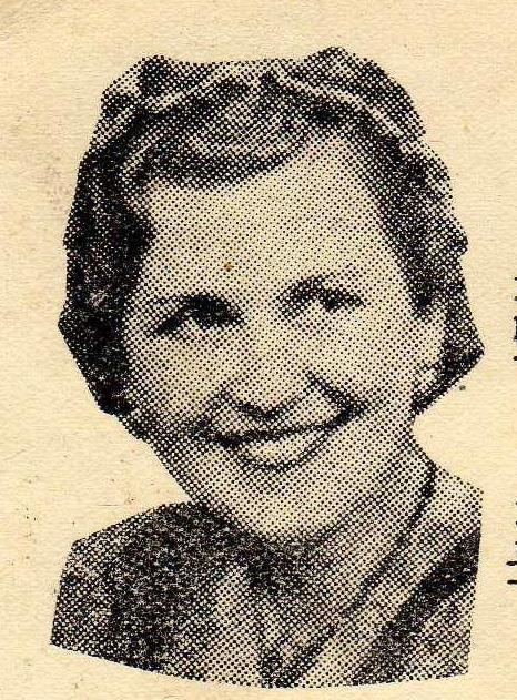 H.Várady Ilona (a kevés róla fennmaradt fényképek egyike)
