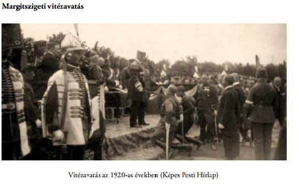 Vitézavatás a a 20-as években (Képes Pesti Hírlap)