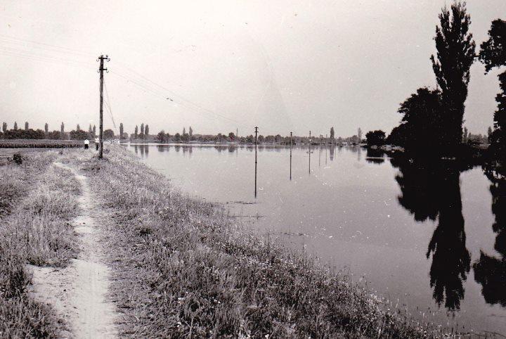 Drávai árvíz 1972 július