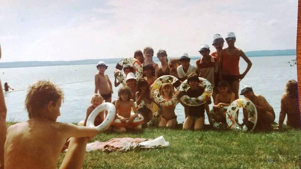 zánkai nyaralás 1988 (?)