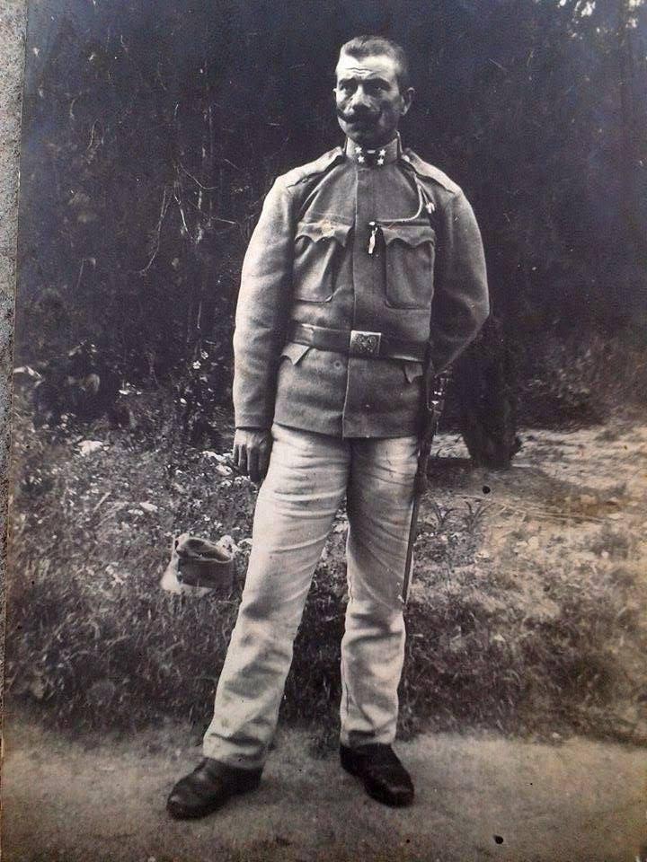 Bótos József,1912. 06. 19. - Szzerbia. <br />'Anyám apai ágáról a dédnagybátyám. Nagyapám anyjának a testvére. f' (Kiss Szilárd családfa)