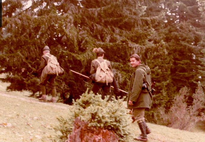Tirolban, útban a zergevadászatra