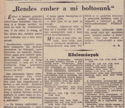 Dunántúli Napló, 1956. december 23