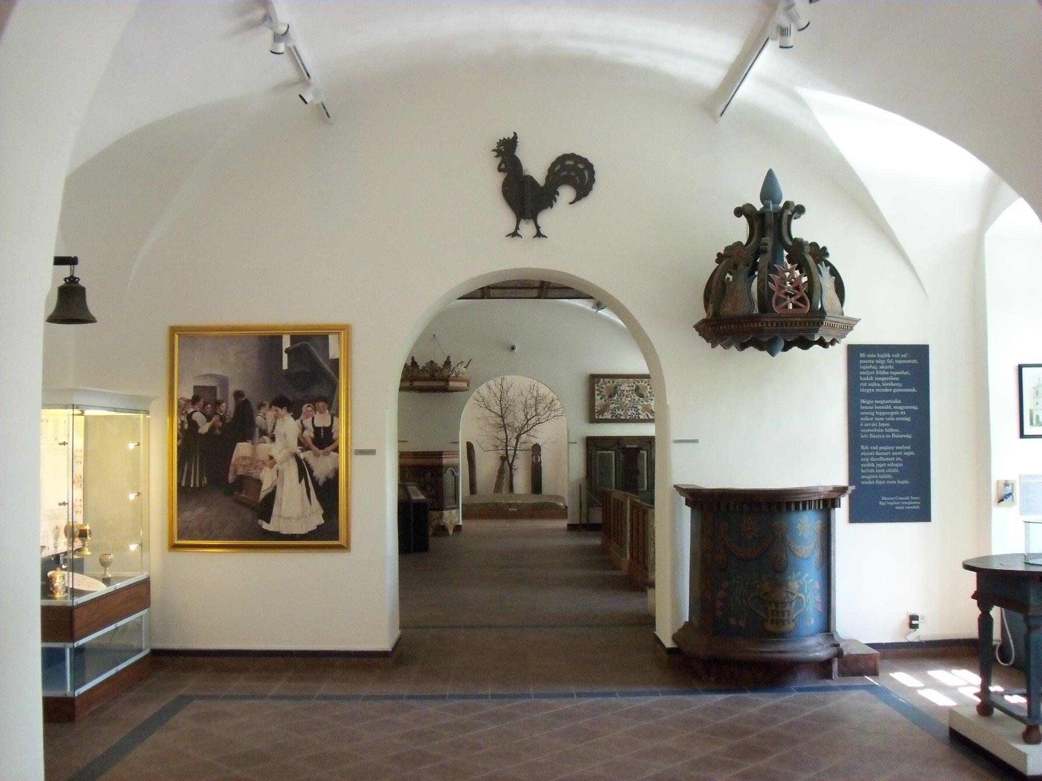 Debrecen -  a Református Kollégium Múzeumának egyháztörténeti kiállítása