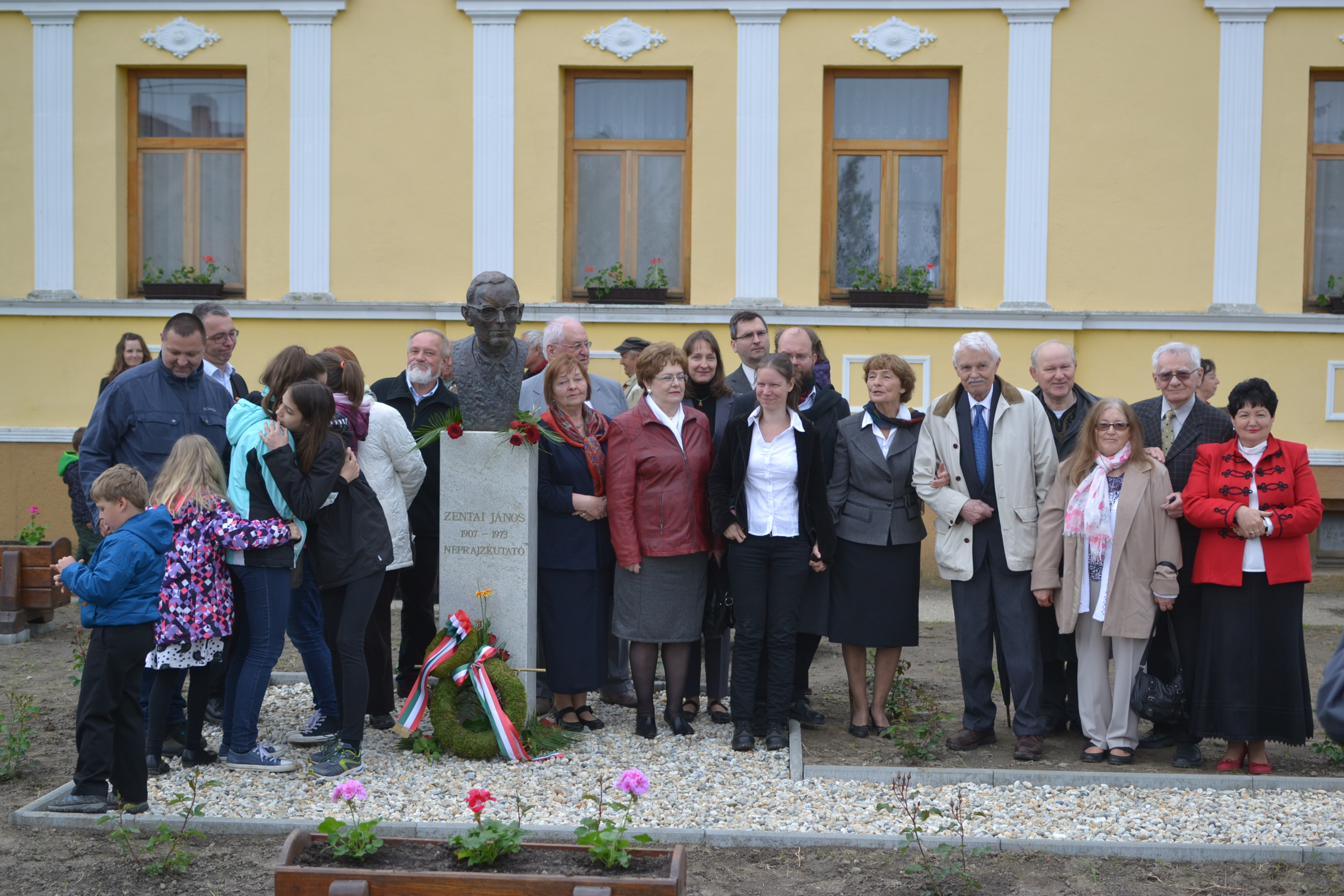 Kémes, 2016 - Zentai János szobrának ünnepélyes avatása<br />Fotó: Tim Graf