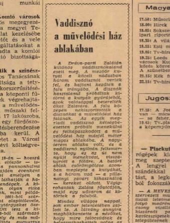 Dunántúli Napló, 1968. augusztus 7.