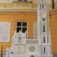 A Mátyás-templom gipszmodellje