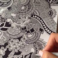 Rajzmeditáció: rajzold magad boldogra!