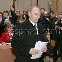 Kire szavazott Putyin?