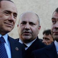Medvegyev berúgott a G8-on?