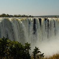 Viktória-vízesés, csoda Zambia és Zimbabwe határán