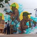 Joburg street art - johannesburgi városnézés III.