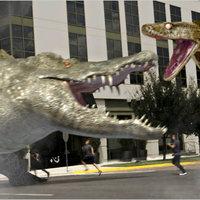 Megapython vs Gatoroid-avagy a rajzolt szörnyek újabb nagy csatája