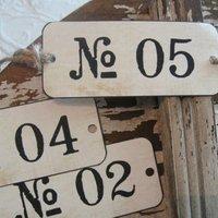 Napi tipp: számokkal díszítsük a lakásunkat!