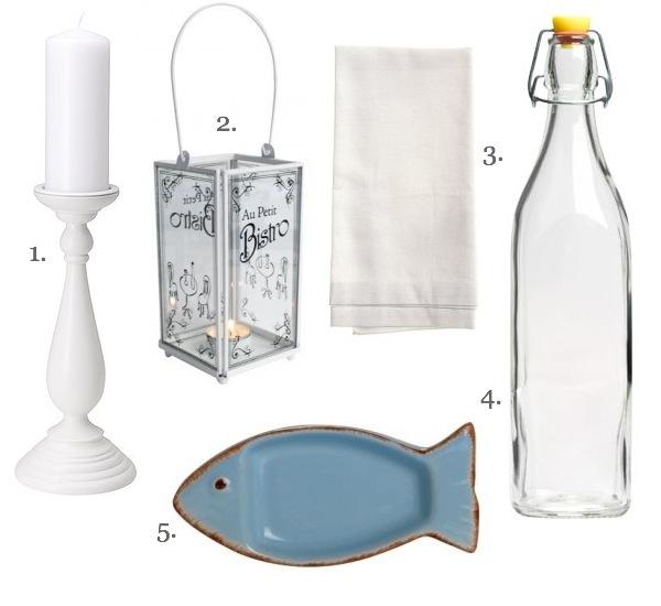 1. Fehér gyertyatartó  Ikea 4490 Ft 7dc04a8cee