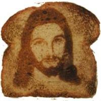 Jézus alakú kenyér