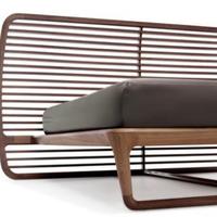 Dió rácsos ágy modernül