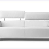 Modern nappali bőrkanapékból, Leolux hétvége