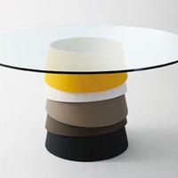 Rakásolható lábú asztal