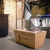 Modern loft konyha