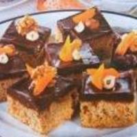 Csokoládés diós-mézes kocka Karácsonyra!