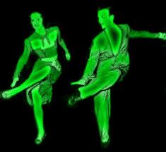 Jive latin tánc