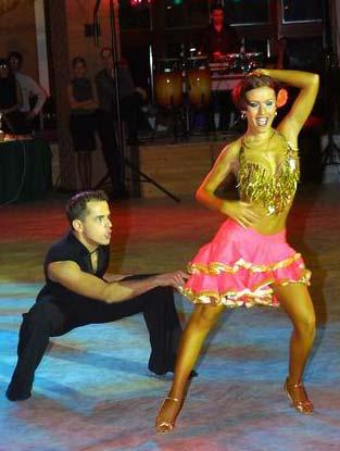 Samba latin táncok