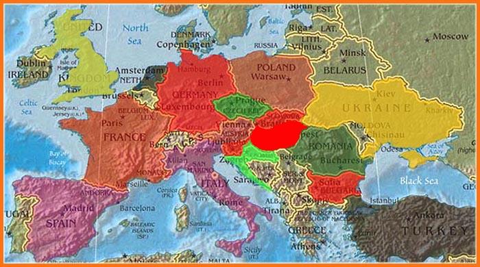 kamionos európa térkép Mikhez jók a térképek?   Ötletes Blog   Ötletek és Hírek kamionos európa térkép