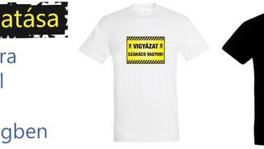 Egyedi póló nyomás a KitűzőShoptól