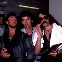 Amikor George Harrison fellépett egy Deep Purple koncerten