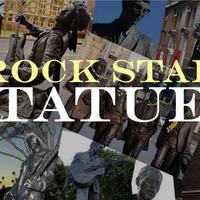 A legnagyobb rocksztárok szobrai