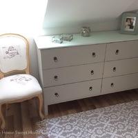 IKEA Tarva szekrény átalakítása