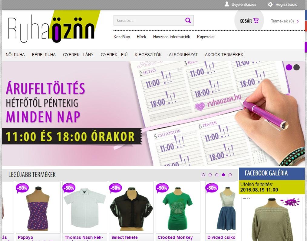 Használt ruhát a netről  Naná! - Otthon a neten be3d50bec8
